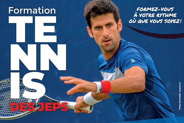 Le DES JEPS Tennis est disponible …