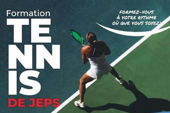 Inscriptions ouvertes pour le DE JEPS Tennis