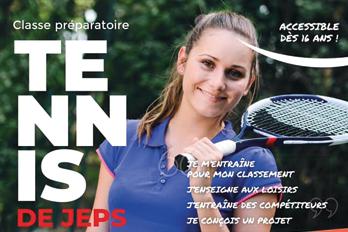 Classe préparatoire DE JEPS Tennis