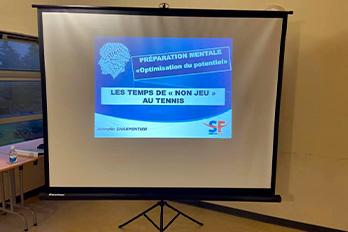 Formation Jennyfer Charpentier aux commandes ce matin!!
