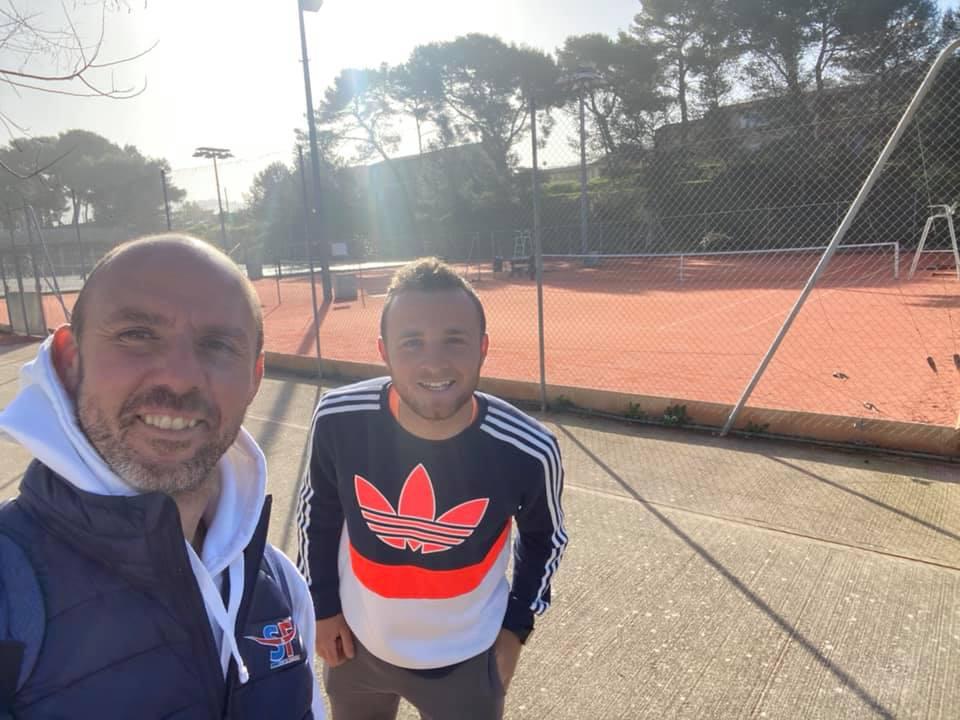 Visite de club dans le cadre du DES JEPS Tennis chez Gabriel TASSARO