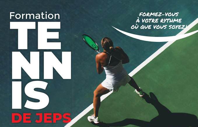 Formation au DEJEPS Tennis en seulement 12 semaines de présentiel