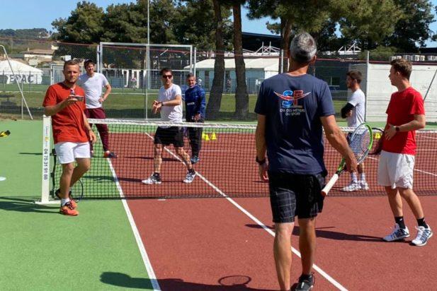 Préparation physique intégrée au programme des DESJEPS tennis ! 🏋️♀️