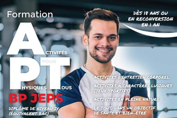 Inscriptions ouvertes  pour le BPJEPS «  activités physiques Pour Tous »