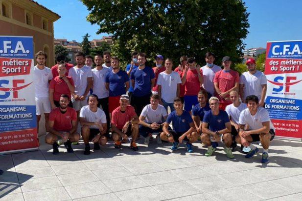Session DEJEPS tennis 2020-2021 bientôt terminée !