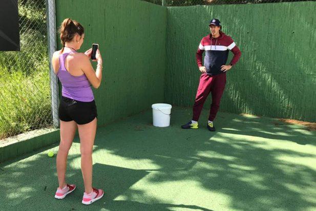 Formation sur le protocole vidéo pour nos DESJEPS tennis aujourd'hui!! 👍👌💪